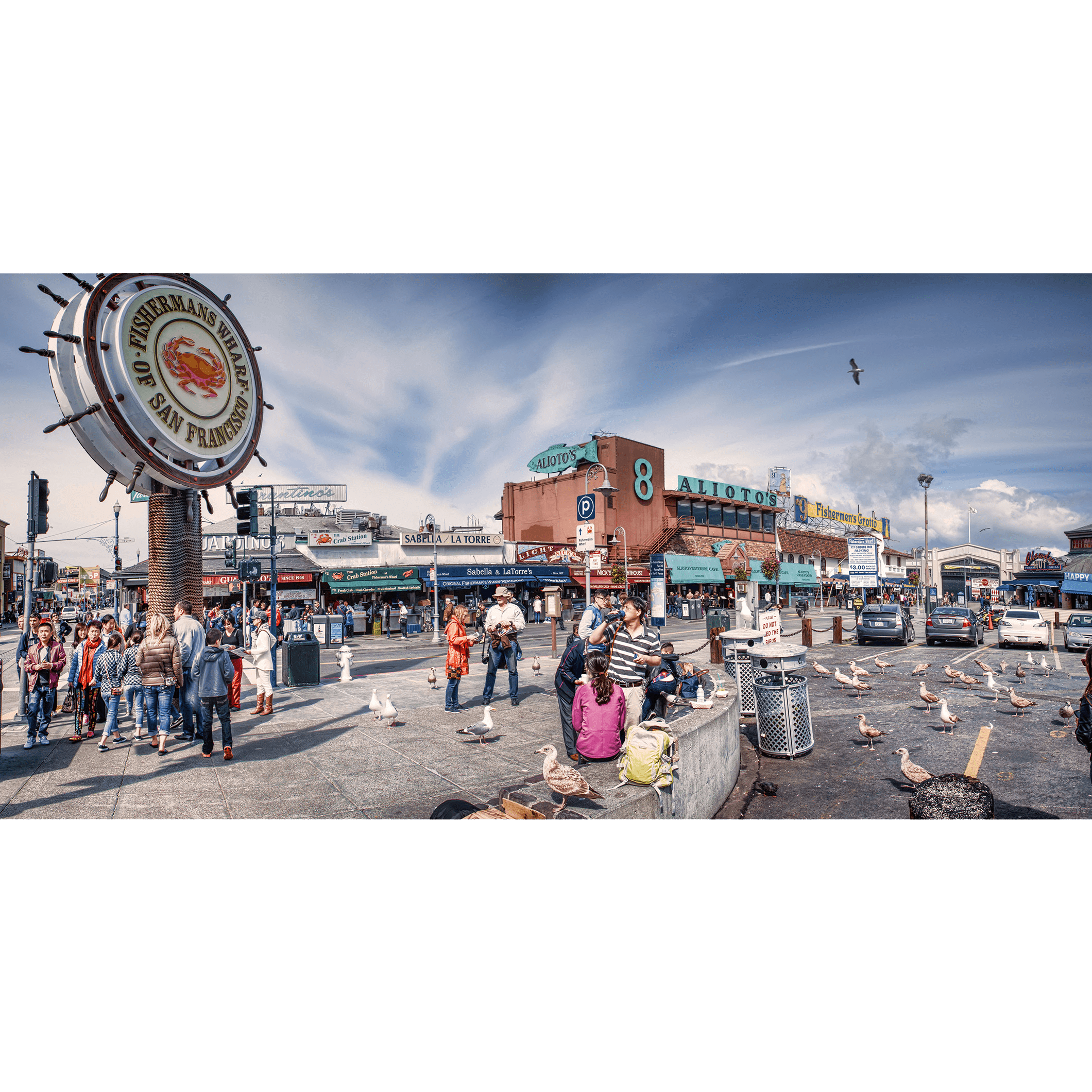 Food Chains Of Fishermans Wharf